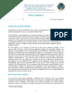 Doc. Ética Médica 2019