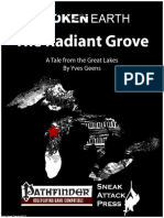 Broken Earth the Radiant Grove (PFRPG)
