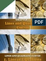 Lines and Quadratic Curves