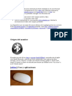 Bluetooth es una especificación industrial para Redes Inalámbricas de Área Personal