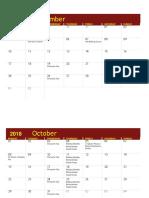 pritzker academic calendar
