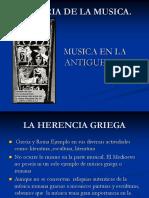 Musica en La Antiguedad