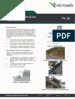 Technical Note TN 036 Rock Slope Routine Maintenace
