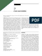Mustanski Dupree Genome Scan of Male Sexual Orientation 2005
