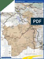 Bolivia - Mapa ABC Potosí 2015