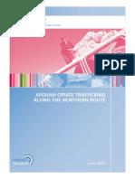 2018 Un Report Opium Trafficking Northern Route Tajik Etc