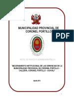 Perfil Gerencias de La Municipalidad Provincial