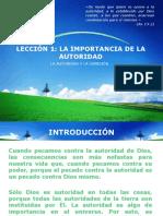 IMPORTANCIA DE LA AUTORIDAD
