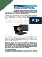 Press Release - ASUS VivoBook Pro F570, Laptop 15 Inci Dengan Ryzen Dan Grafis Mumpuni