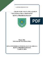 Laporan Mgmp Mat Januari 2019