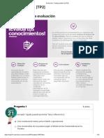 Diseño Evaluación_ Trabajo Práctico 2 [TP2] 64.58