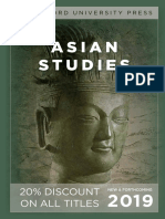 Asian Studies 2019 (Stanford University Press)