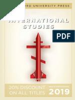 International Studies 2019
