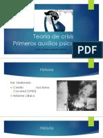 Teoría de crisis