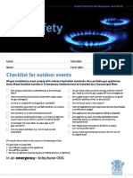 Safety Checklist for Outdoor Events