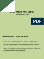 Chapter 6 Torrens Certificate of Title LTD V2017