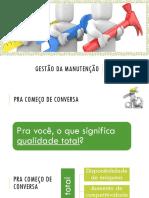 Aula - Gestão da Manutenção.pdf