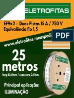 Eletrofita EF9X2 25M