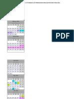 Kalendar Cuti Umum 2018