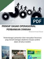 Prinsip Dasar Operasional Perbankan Syariah