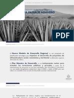 Nuevo Plan Maestro Regional | Paisaje Agavero