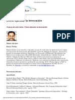 Cómo ejecutar la innovación.pdf