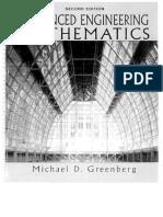 Advanced Engineering Mathematics - Michael D. Green Berg, 2nd Ed