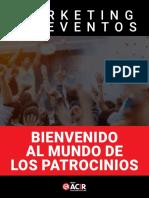eBook Marketing de Eventos Bienvenido Al Mundo de Los Patrocinios