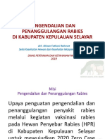 SOSIALISASI RABIES PUSKESMAS BENTENG 2019.ppsx