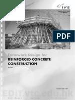 Formwork Design for Reinforced Concrete Construction