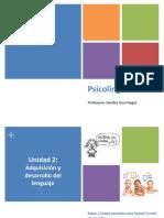 PL5 - Comunicación Prelingüistica y Desarrollo Fonológico