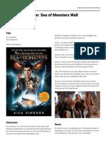 padlet-percy jackson book report