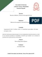 Realismo Crítico y El Materialismo Gnoseologico Investigacion Estereotipos Negativos Hacia La Vejez
