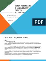 Case Digest Report. Power Sector Assets and Liabilities Management vs CIR.pptx