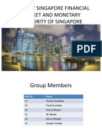 Study of Singapore Financial Market and Monetary Authority