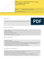 Reflexiones sobre las competencias para el ejercicio de la dirección de instituciones educativas