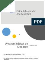 Física Aplicada en Anestesiología