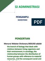 PPT ekologi