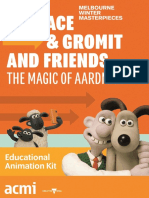 Wallace Gromit and Friends Educational Animation Kit