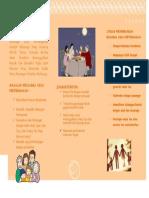 leaflet keluarga
