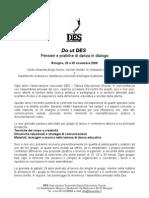 Convegno DES 2008 Do Ut Des