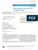 Pigmented Bowen Disease on Sclerosus and Atrophicus Lichen