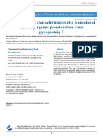 Generation and Characterization of a Monoclonal Antibody Against Pseudorabies Virus Glycoprotein C