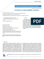 Repulsive Lubrication on Hydrophilic Surfaces