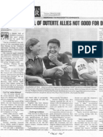 Philippine Daily Inquirer, Mar. 5, 2019, Otso Senate full of Duterte allies not good for Duterte.pdf