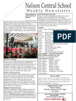 20th October 2010 Newsletter Web