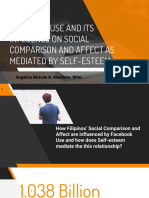 Facebook Use (Motives and Intensity) and Its Influence on Social Comparison and Affect as mediated by Self-esteem
