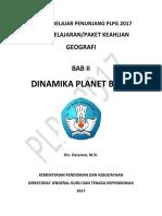 BAB II Dinamika Planet Bumi