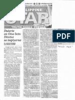 Philippine Star, Mar. 5, 2019, Duterte on Otso bets Diretso sa impiyerno.pdf