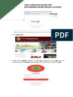 Cara Aktivasi Nira Berbasis on-line (Virtual Account)